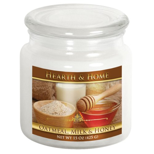 Oatmeal, Milk & Honey - Medium Jar Candle