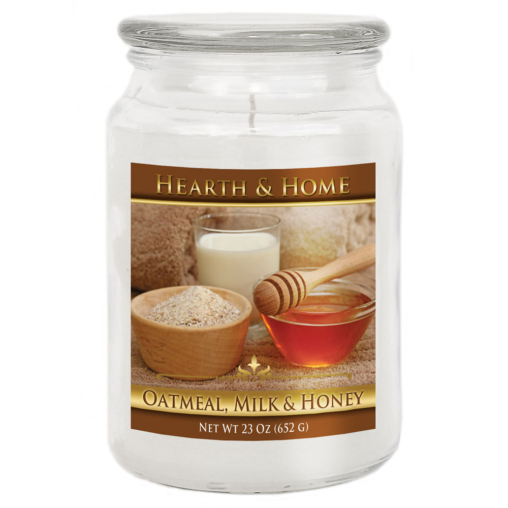 Oatmeal, Milk & Honey - Large Jar Candle