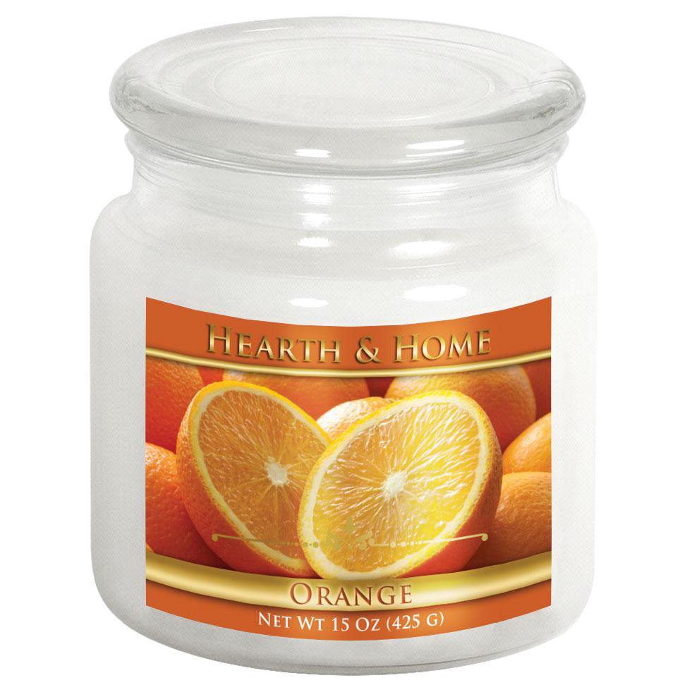 Orange - Medium Jar Candle