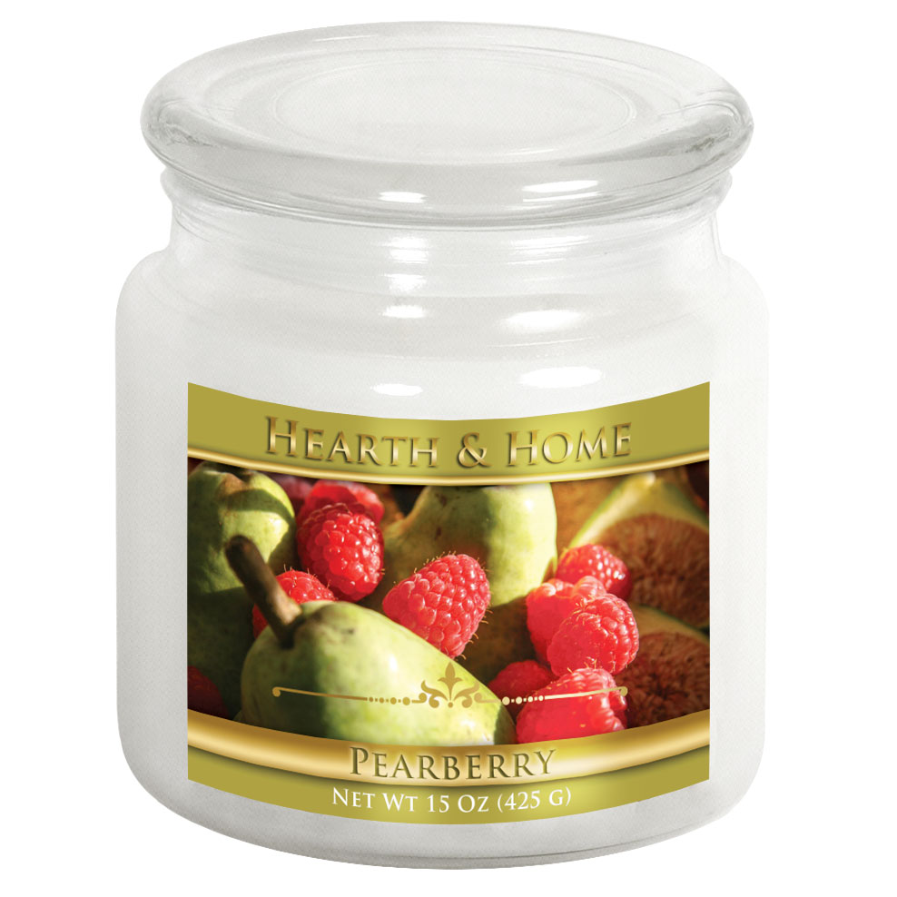 Pearberry - Medium Jar Candle