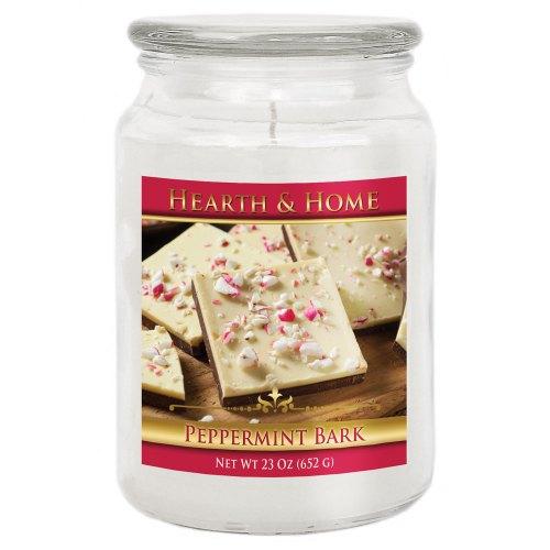 Peppermint Bark - Large Jar Candle