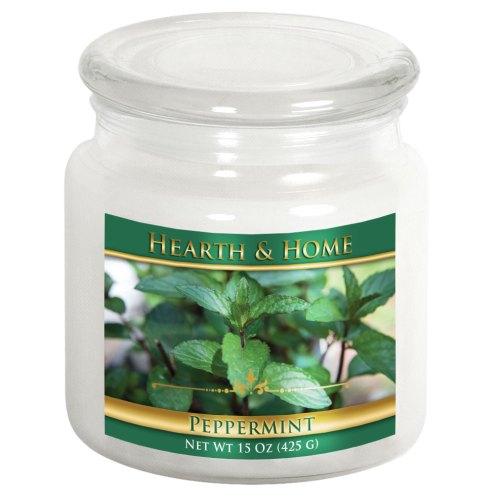 Peppermint - Medium Jar Candle