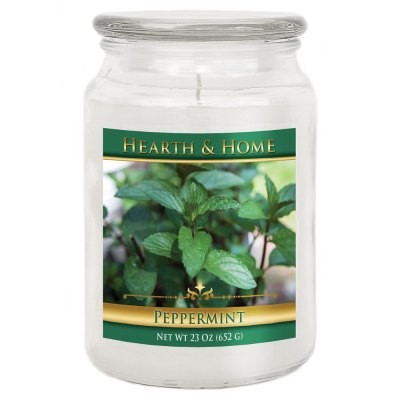 Peppermint - Large Jar Candle