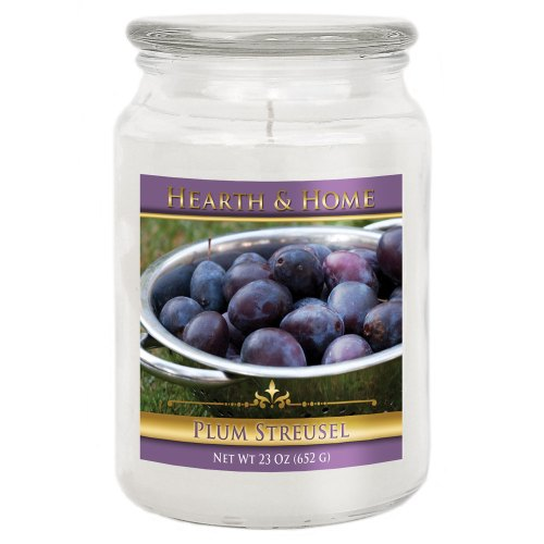 Plum Streusel - Large Jar Candle