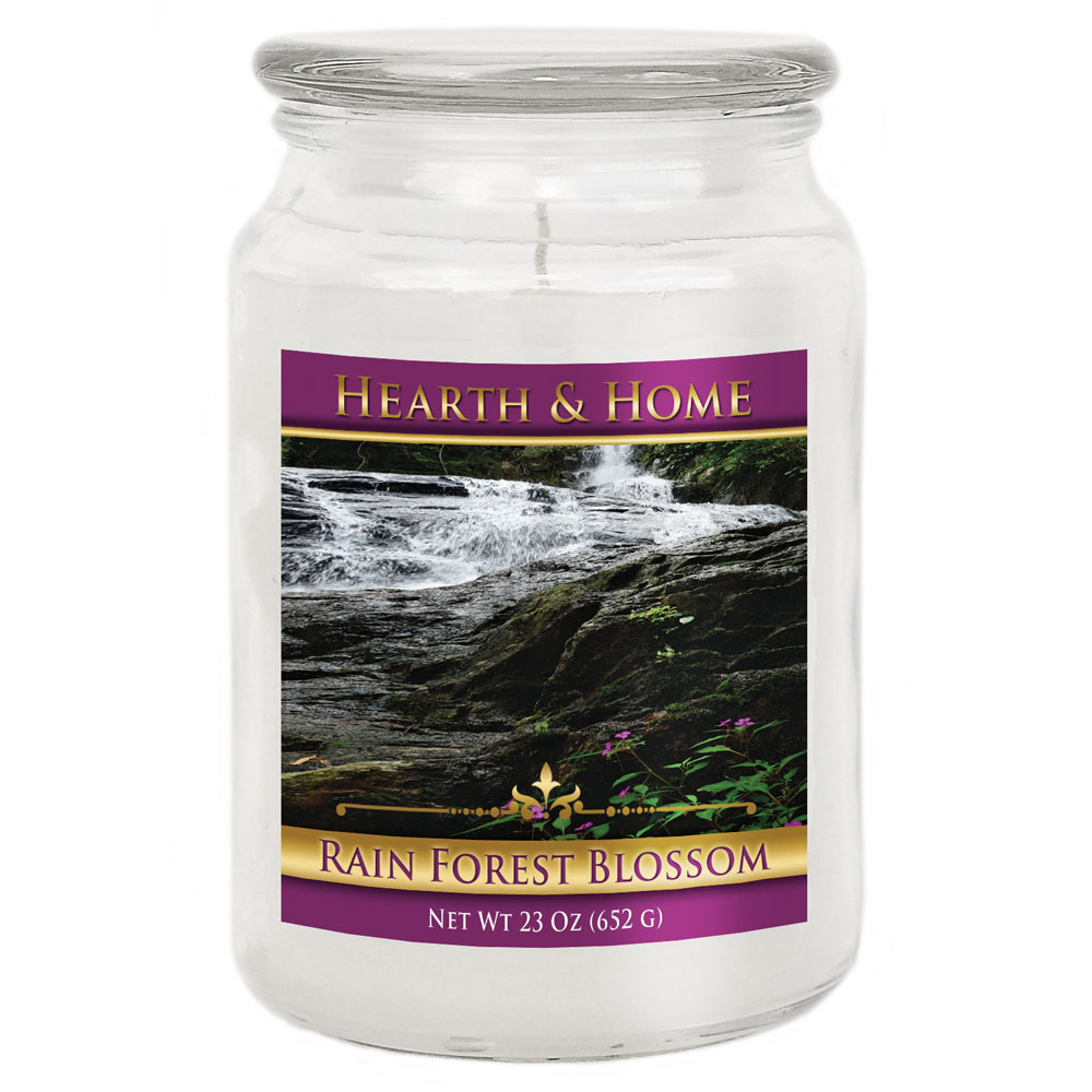 Rain Forest Blossom - Large Jar Candle