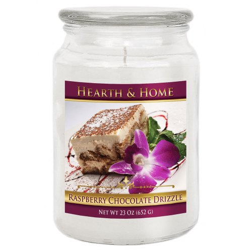 Raspberry Chocolate Drizzle - Large Jar Candle