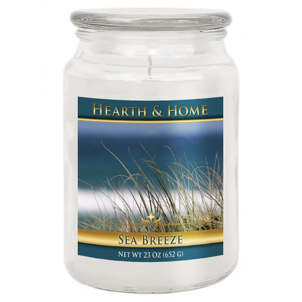 Sea Breeze - Large Jar Candle