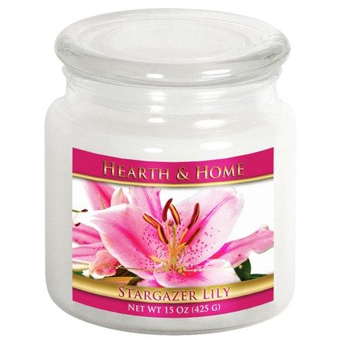 Stargazer Lily - Medium Jar Candle