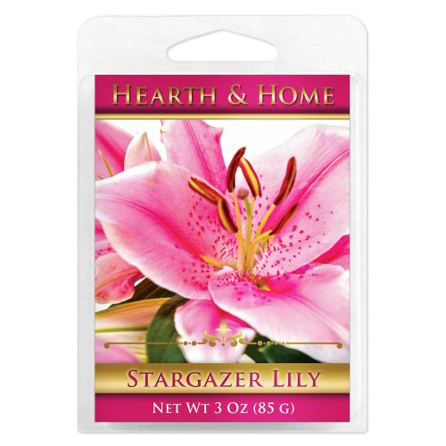 Stargazer Lily Scented Wax Melt Cubes - 6 Pack