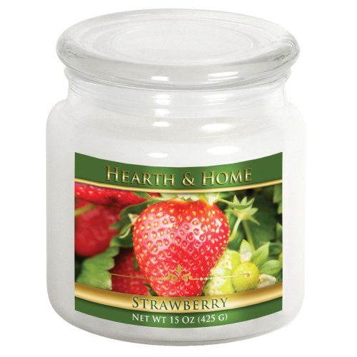 Strawberry - Medium Jar Candle