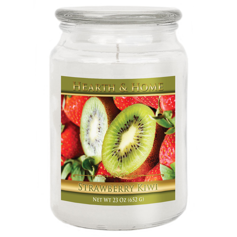 Strawberry Kiwi - Large Jar Candle