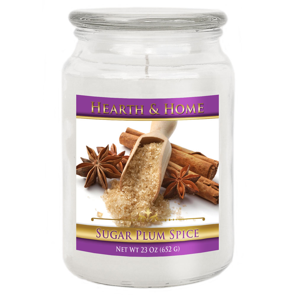 Sugar Plum Spice - Large Jar Candle