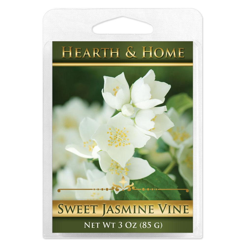 Sweet Jasmine Vine Scented Wax Melt Cubes - 6 Pack