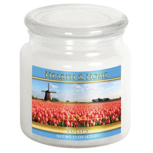Tulips - Medium Jar Candle