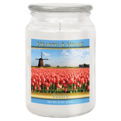 Tulips - Large Jar Candle