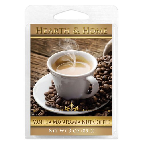 Vanilla Macadamia Nut Coffee Scented Wax Melt Cubes - 6 Pack