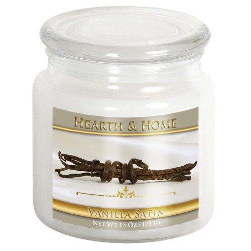 Vanilla Satin - Medium Jar Candle