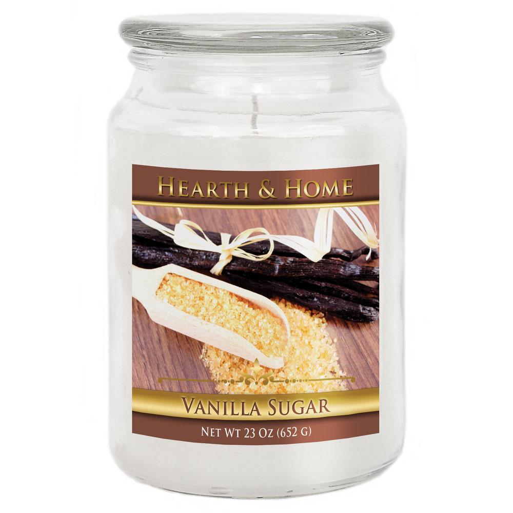 Vanilla Sugar - Large Jar Candle