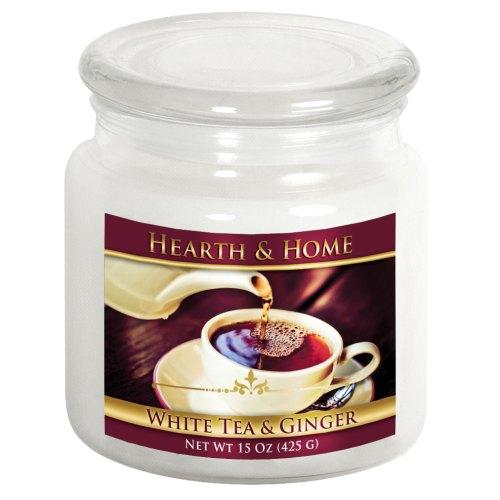 White Tea & Ginger - Medium Jar Candle