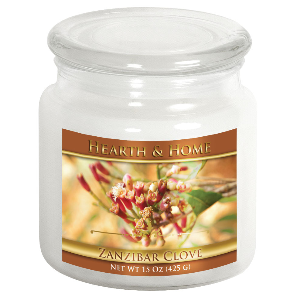 Zanzibar Clove - Medium Jar Candle