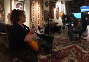 Toby Christensen and Kelly Red tracking This Wish