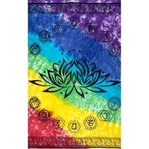 Lotus Chakra Tapestry