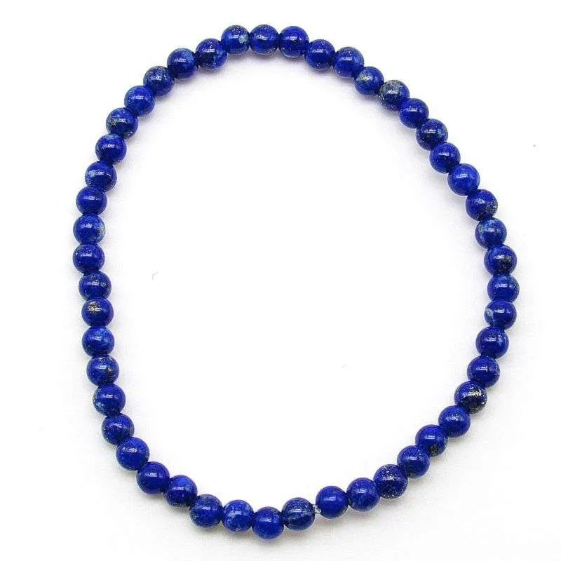 Lapis lazuli 4mm bead bracelet