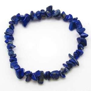 Lapis lazuli chip bracelet.