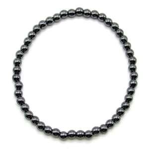Hematite 4mm bead bracelet
