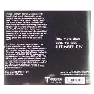 Back cover of Ultimate Om