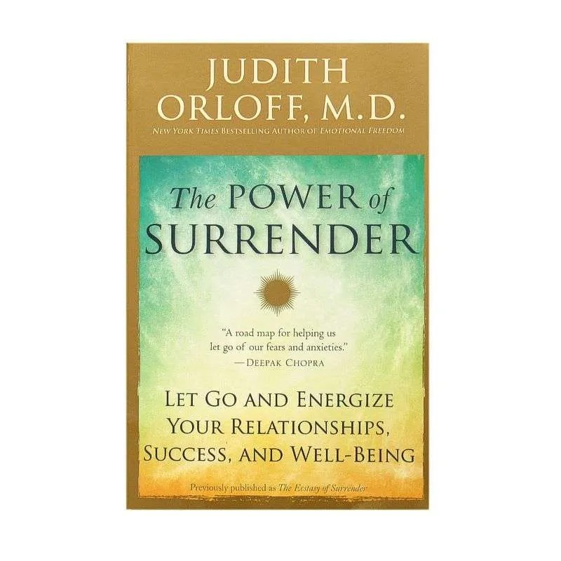 Front cover of The Power of Surrender by Judith Orloff