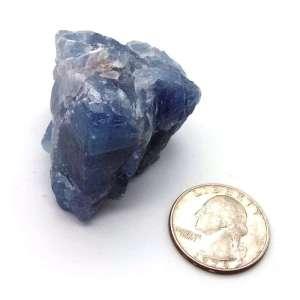 Small blue calcite nugget.