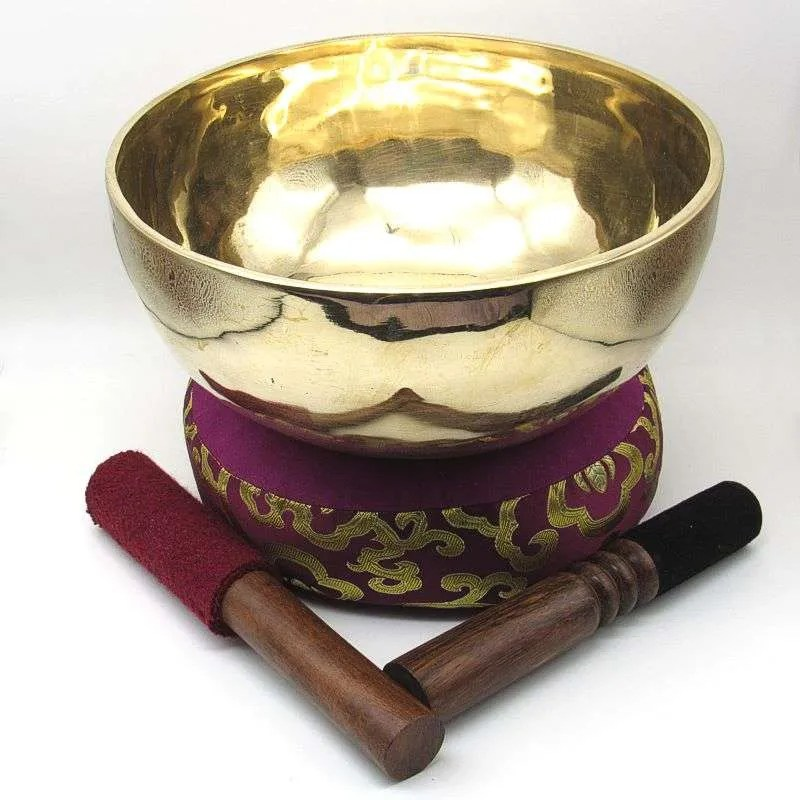 9 1/4 inch metal singing bowl.