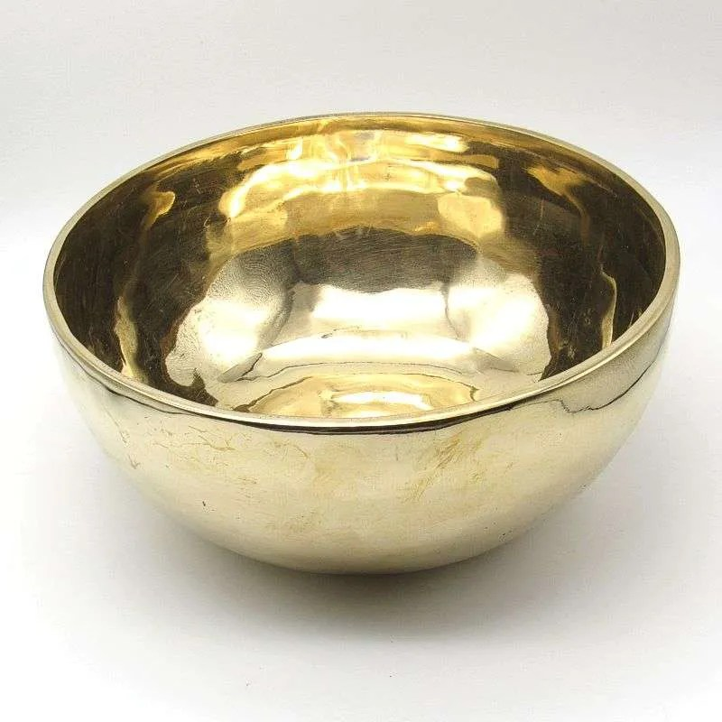 9 1/4 inch metal singing bowl.