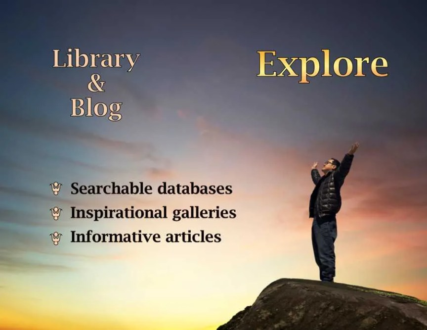 Explore - Library and Blog