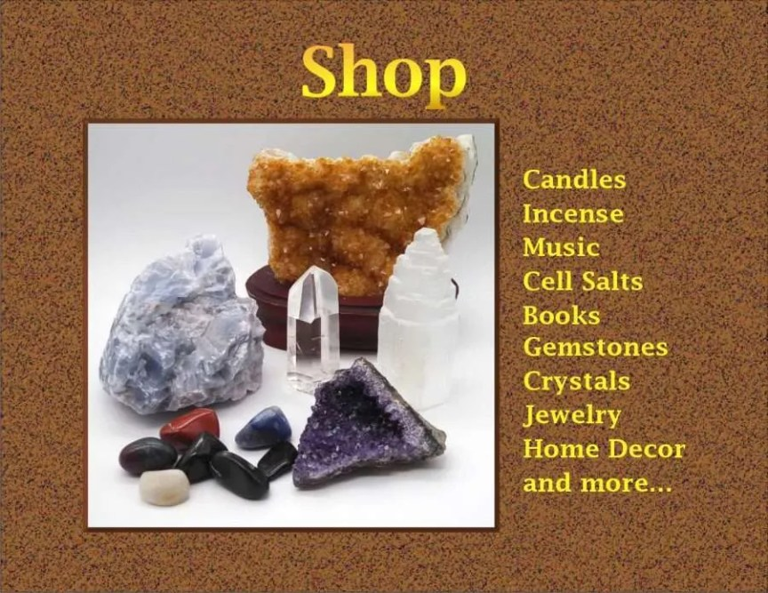 Shop - Crystals, Jewelry, Home Decor and More