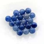 Blue aventurine beads 6mm.