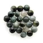 Cat's eye quartz beads 6mm.