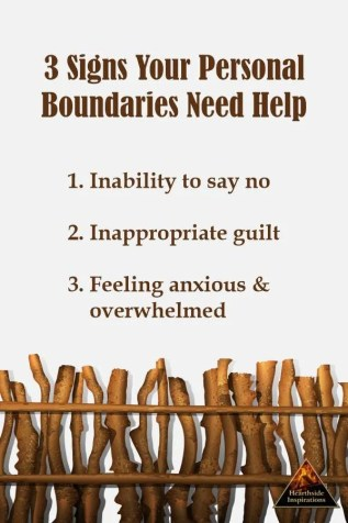 Find yourself saying yes when you really want to say no? Wallowing in feelings of guilt when you do say no? Perhaps you need a personal boundaries checkup to find balance in service to yourself and others.