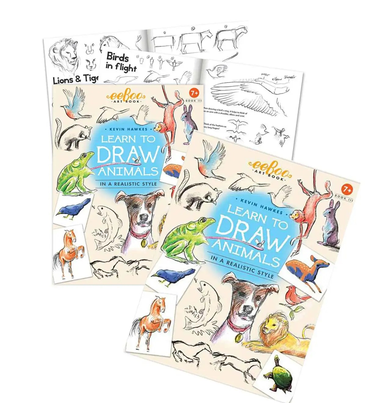 Learn To Draw People And Animals Set Of Two
