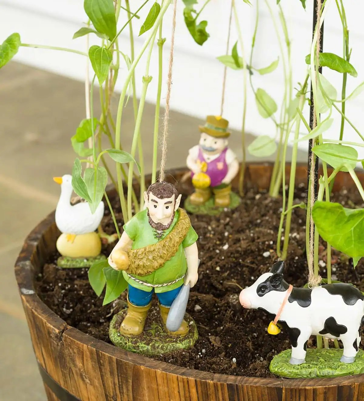 Jack And The Beanstalk Garden Tower