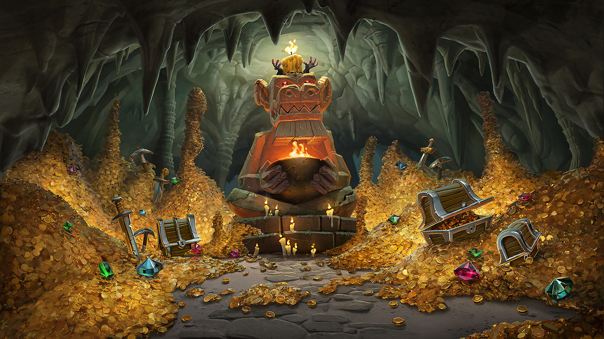 Kobolds And Catacombs Wallpapers High Quality WMobile Versions Hearthstone Top Decks