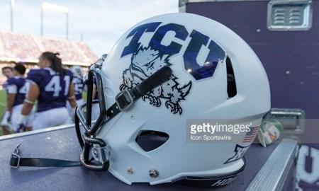 tcu horned frogs helmet 2015