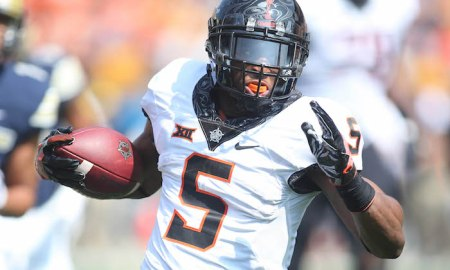 NCAA Football: Oklahoma State at Pittsburgh