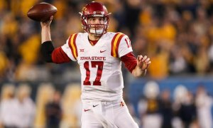 NCAA Football: Iowa State at West Virginia