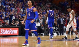 NCAA Basketball: Kansas at Syracuse