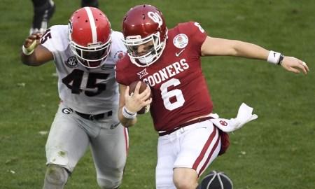 NCAA Football: Rose Bowl-Oklahoma vs Georgia