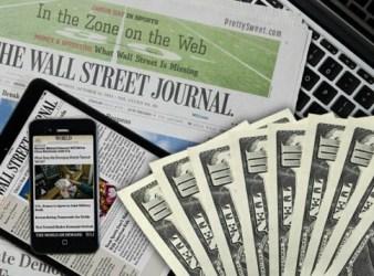 newspaper Wall Street Journal
