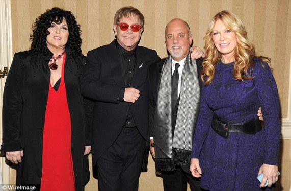 Ann, Elton, Billy Joel and Nancy