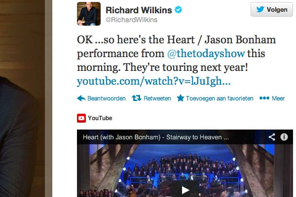 Richard Wilkins later confirmed on Twitter as well.